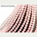 Rose quartz strand - 10 mm, pink, 38 cm /1598