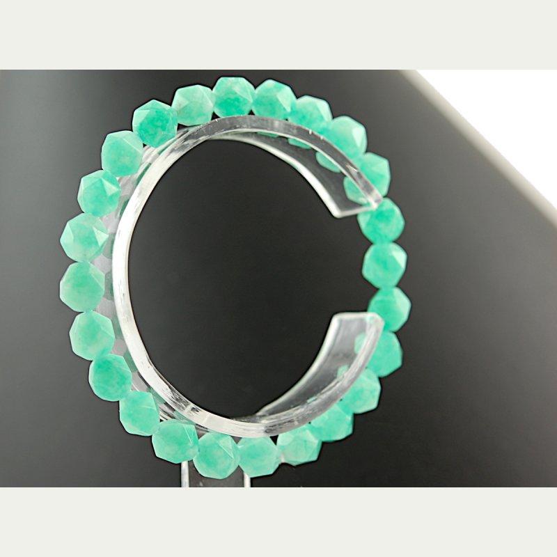 Spider Web Agate Bracelet 8 mm #011
