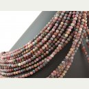 Tourmaline strand - faceted spheres 6 mm...