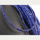 Lapis strand - spheres 3,5 mm royal blue, length 40 cm /1038