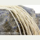 Culture pearl strand - rice grain 3 mm white /7030