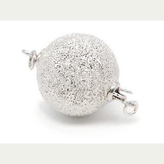 925er Silber Schließe S-Haken kegelförmige Kappen //3233