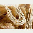 Culture pearl strand - rice grain 2x3 mm white, length 40...